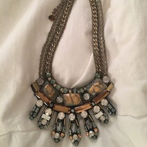 NOCTURNE CHUNKY STATEMENT NECKLACE